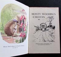 1957 1st Edition Monty  Woodpig's Caravan by 'bb'. Illustrated by D J Watkins-Pitchford, Original Dust Jacket (2 of 5)
