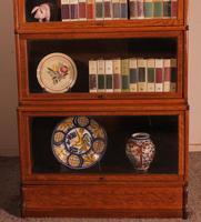 Globe Wernicke Bookcase in Oak Called Waterfall from England (3 of 9)