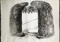Original etching 'Arch 1' by Ivor Abrahams RA. 1935-2015 Signed, dated and inscribed. (4 of 4)