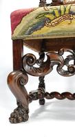 Fine Set of Four Late 17th - Early 18th Century Walnut Chairs (3 of 14)
