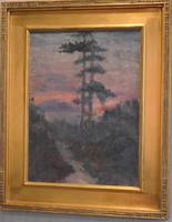 American Oil Painting Raquette Lake, New York State (3 of 8)
