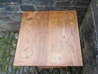 Arts & Crafts Golden Oak Table (11 of 12)