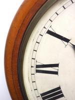 Antique Original Dial Wall Clock Rare Striking Station Public Dial Wall Clock (3 of 10)