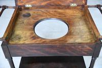 19th Century Mahogany Washstand (4 of 12)