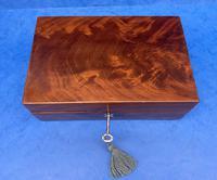 Georgian Flame Mahogany Box c.1820 (2 of 10)