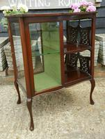 Lovely Victorian Mahogany Shop Display Cabinet (4 of 7)