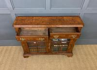 Burr Walnut Bookcase or Side Cabinet (2 of 18)