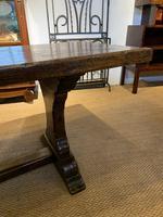 Oak refectory table (8 of 9)