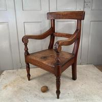 Antique Georgian Childs Mahogany Chair (9 of 10)