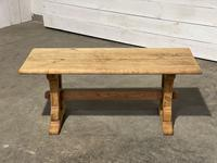 Great Rustic French Bleached Oak Coffee Table (23 of 25)