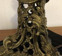 Rococo Gilt Brass Table Lamp (4 of 9)