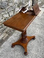 Victorian Mahogany Adjustable Reading Table by Ward (2 of 16)