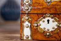 Burr Walnut Perfume Box 1870 (7 of 13)