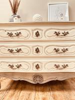 French Antique Style Drawers / Parquet Chest of Drawers / Louis XV Style Drawers (5 of 10)