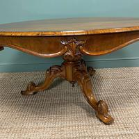 Outstanding Victorian Rosewood Antique Dining Table (6 of 9)