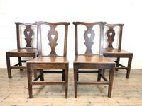 Set of Four 19th Century Oak Dining Chairs (3 of 10)