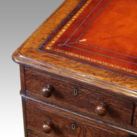 Victorian Oak Pedestal Desk (3 of 11)