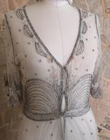Vintage 1920's beadwork dress, Art Deco (19 of 20)