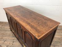 18th Century Welsh Oak Coffer with Panel Front (6 of 19)