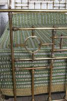 Handsome Victorian All Naturally Aged Brass King Size Bed (8 of 10)