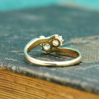 The Antique Old European Cut Diamond Toi Et Moi Ring (4 of 6)