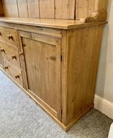 Large Antique Pine Dresser (12 of 16)