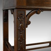 Compact Antique Open Bookcase, Mahogany, Sideboard, Dresser, Edwardian c.1910 (3 of 12)