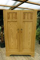 Fantastic! Old Pine 'Knock Down' Cupboard/ Wardrobe With Shelves - We Deliver! (3 of 14)