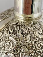 Silver Mounted Glug Glug Decanter London 1898. (3 of 8)