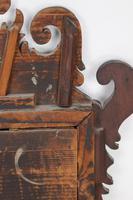 Small Georgian Mahogany Fretwork Mirror (10 of 13)