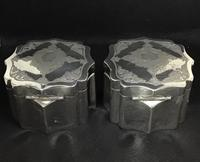 Pair of Mid 19th Century Silver Plated Tea Caddies (5 of 10)