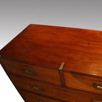 Victorian Teak Military Chest (11 of 12)