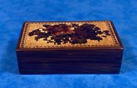 Rosewood & Mosaic Tunbridge Ware Box (9 of 12)