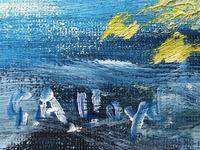 20th Century Oil Painting Wales Menai Bridge Church Straits Snowdonia Mountains (26 of 27)
