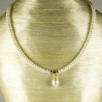 Vintage Seed Pearl Necklace With 14ct. Fastening (2 of 3)