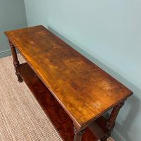 Spectacular Victorian Mahogany Antique Console Table (6 of 8)