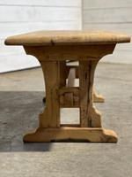 Great Rustic French Bleached Oak Coffee Table (13 of 25)
