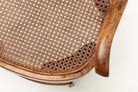 19th Century Walnut and Cane Chair (4 of 8)