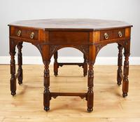 Victorian Walnut Library Table (9 of 9)