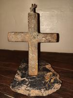 12th Century Medieval Bronze Crusader Knights Large Pectoral Cross (6 of 13)