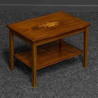 Edwardian Mahogany Coffee Table