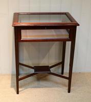Mahogany Bijouterie / Display Table (2 of 9)