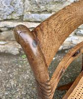 Set of 4 Regency Rosewood Sabre Leg Dining Chairs (15 of 15)