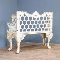 20th century Cast Iron Bench (6 of 7)