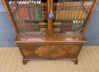Burr Walnut Bookcase by Jas Shoolbred (9 of 19)