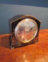 Small Edwardian Chinioserie Mantel Clock (8 of 8)