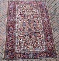 Old Heriz Carpet 309x214cm (8 of 9)