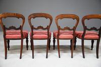 4 Mahogany Balloon Back Dining Chairs (4 of 12)