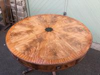 Antique Mahogany Drum Table (6 of 9)