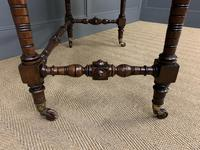 Good Late Victorian Mahogany Writing Table (14 of 14)
